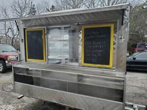 All Aluminum 2007 4 X 8 Food Concession Trailer Tiny Kitchen For Sale In Mas