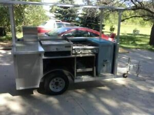 2009 4 X 8 Nsf Mobile Vending Cart used Street Food Concession Trailer For S