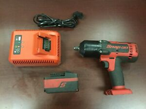 Snap on Ct7850 1 2 Drive Impact Wrench Cordless 18v W 1 Battery