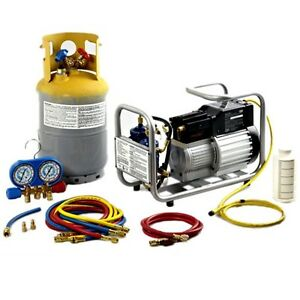 Cps Mobile Multiple Refrigerant Recovery Tank Machine And Recycle System Tra21