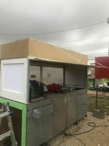 4 X 7 Food Vending Cart For Sale In Texas