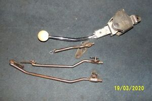 4 Speed Shifter With Rods Itm Very Nice Condition