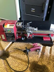 Microlux True inch 7x14 Variable Speed Lathe