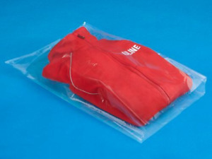 100 Poly Bags 1 Mil Clear 18 X 24 Plastic Flat Open Top Apparel Tshirt Packaging