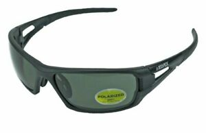 Elvex Delta Plus Rimfire Safety shooting sun Glasses Grey Polarized Lens Z87 1
