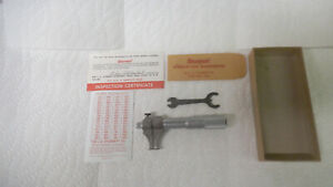 Starrett Usa Made Inside Groove Micormeter Model 701 5 To 1 5