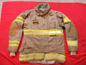 Securitex Turnout Bunker Jacket 44t 2 Arm Thermal Zip out Liner Firefighter