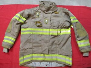 Securitex Turnout Bunker Jacket 46t 1 Arm Thermal Zip out Liner Firefighter