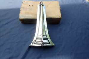 1941 Pontiac Radiator Grille Center Trim Panel Nos 505196
