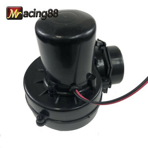 New 3 Electric Turbocharger Air Intake Universal Fits Car Motorcycler Atv Black