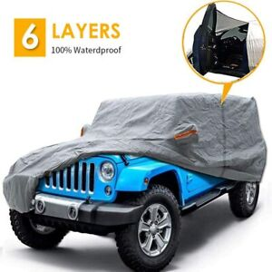 Big Ant Car Cover For Jeep Wrangler Cj Yj Tj Jk 4 Door All Weather Protection