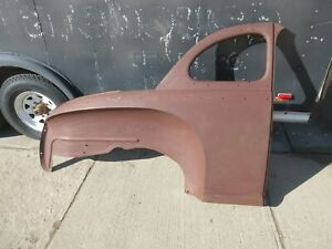 Nos 1941 Mercury Ford Coupe Right Passenger Quarter Panel