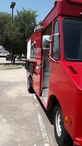 Permitted Chevrolet Step Van Pizza Food Truck With Pro Fire Suppression For Sale