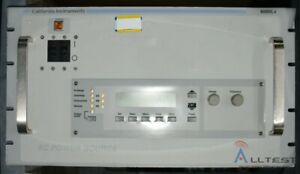 California Instruments 6000lx ehv Ac Power Source