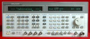 Hp Agilent 8645a 001 3438a00481 Signal Generator 252 Khz To 1030 Mhz