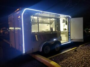 Never Used 2020 7 X 14 Lark Food Concession Trailer Brand New Mobile Kitchen