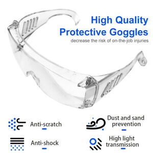 Medical Goggles Safety Lab Glasses Anti Protective Chemical Splash Usa