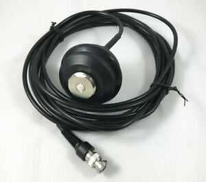 New 5m Whip Antenna Pole Mount Cable Bnc Connector For Gps Base Station