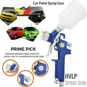 Mini Hvlp Air Paint Spray G Un Auto Car Detail Touchup Sprayer Gravity Repair