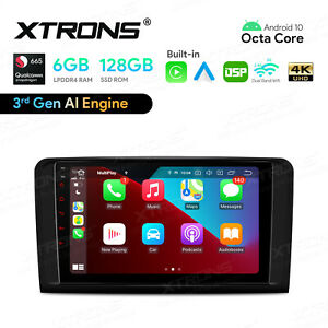 8 Android 10 8 Core 4 64gb Car Gps Stereo Radio Wifi 4g For Mercedes Benz W211