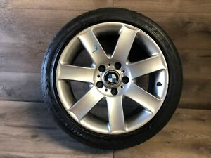 Bmw Oem E46 320 323 325 328 330 M3 Wheel Rim And Tire 225 45 17 Inch 17 00 06 3