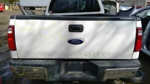 2008 2012 Ford F350 Super Duty Trunk hatch tailgate White 1675163