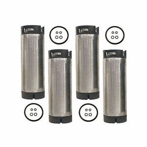 5 Gallon Ball Lock Pressure Tested Reconditioned Pepsi Soda Keg Set Of 4