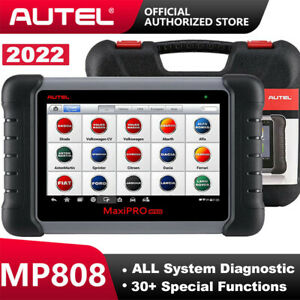 Autel Maxipro Mp808 All System Obd2 Diagnostic Scanner Bidirectional Ecu Coding