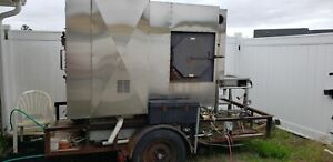 2002 5 3 X 7 125 Trailer mounted Towable Ole Hickory Smoker For Sale In Sou