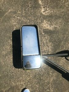 Used Large Side Mirrors For Semi Truck Bus Green West Coast Style