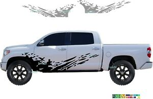 Side Graphics Vinyl Decal Mud Splash Stickers For Truck Suv Off road Off Road
