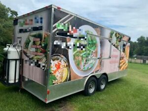 Licensed 2017 8 5 X 20 Spacious Mobile Kitchen Food Concession Trailer For S