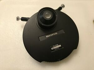 Olympus Cx pcd Phase Microscope Condenser Infinity Cx41 Auxiliary Low Mag Lens