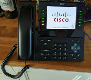 Cisco Cp 9971 Phones lot Of Three With Cameras