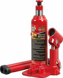 Torin Big Red Hydraulic Bottle Jack 2 Ton 4 000 Lb Capacity New other