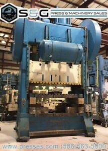 400 Ton Clearing S2 400 108 60 Straight Side Press