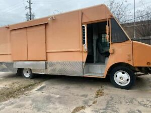 Chevrolet Utilimaster Step Van Food Truck Used Mobile Kitchen For Sale In Texa