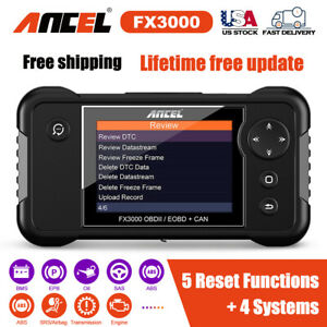 Fx3000 Obd2 Diagnostic Tool Abs Oil Bms Epb Sas Car Scanner For Toyota For Bmw