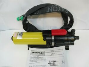 Enerpac Pa133u103 Turbo Air over Hydraulic Pump Kit T 482 2 Pump 5 Hose