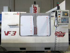 2000 Haas Vf 3 Cnc Vertical Mill 40 x20 20hp 4th axis Ready P cool