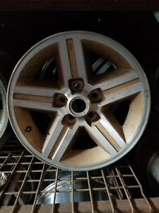 1 Used 16 X 8 Used Chevy Iroc Wheel Rear Wheels Only