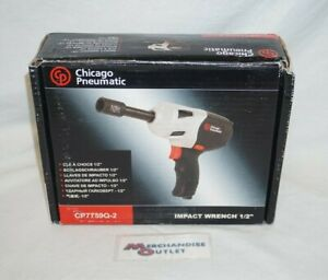 Chicago Pneumatic Cp7759q 2 Impact Wrench 1 2 See Description