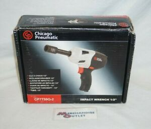 Chicago Pneumatic Cp7759o 2 Impact Wrench 1 2 See Description