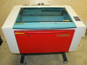 Trotec Speedy 300 80 Watt 2017 Model Laser Cutter Engraver With Honeycomb Tray
