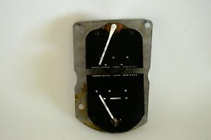 1953 54 Studebaker Commander Champion Oil Pressure Temprerature Gauges Dash