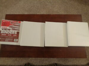Binders 4 Pack 225 Sheet Capacity For Paper Non locking Round Rings