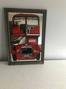 Coca Cola Trafalgar Square Mirror 13.5 x 9.5 inches