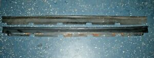 Set 1970 1971 Ford Ranchero Gt Front Door Sill Wire Loom Protectors