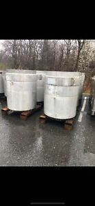 350 Gallon Stainless Steel Tote Tank