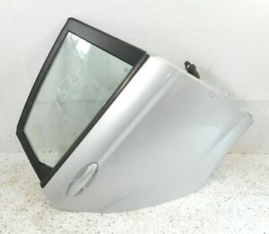11 15 Ford Fiesta Sedan Rear Passenger Right Door Assembly Electric Oem Silver